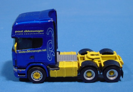 084956 1//87 Herpa chasis Scania 6x6 tractor 2 unid